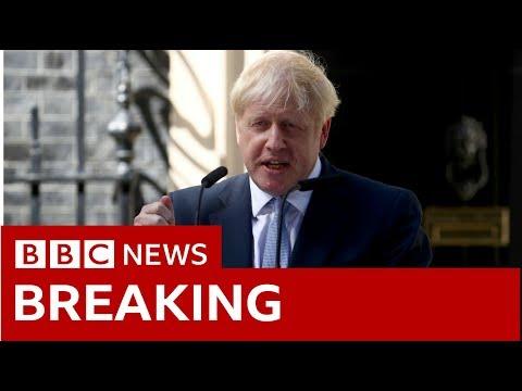 Boris Johnson makes first speech as new PM - BBC News