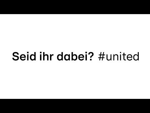 Wir sind #united | Seid ihr dabei?