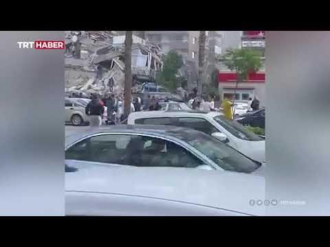 İzmir Seferihisar açıklarında 6,6 büyüklüğünde deprem meydana geldi