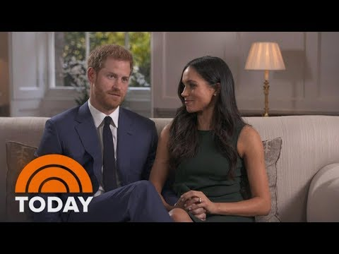 Prince Harry And Meghan Markle Open Up About Their Engagement And Reveal How They Met | TODAY