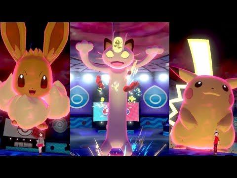 G I G A D Y N A M A X - P O K É M O N erscheinen in Pokémon Schwert und Pokémon Schild!