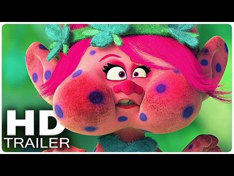 TROLLS Alle Clips + Trailer German Deutsch | Filme 2016