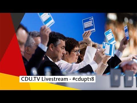 CDU.TV Livestream - #cdupt18