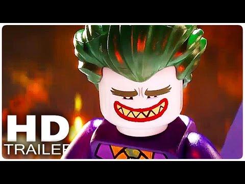 THE LEGO BATMAN MOVIE Trailer 1 - 3 German Deutsch | Filme 2017