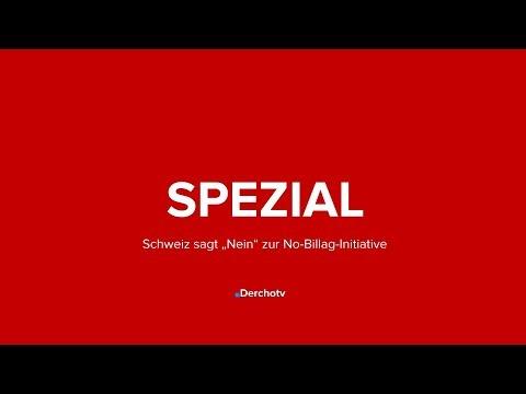 """SPEZIAL – Schweiz sagt """"Nein"""" zur No-Billag-Initiative"""