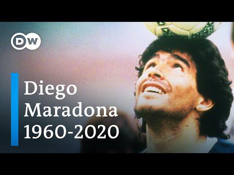 Diego Maradona tot: Fußballlegende stirbt mit 60 Jahren   DW Nachrichten