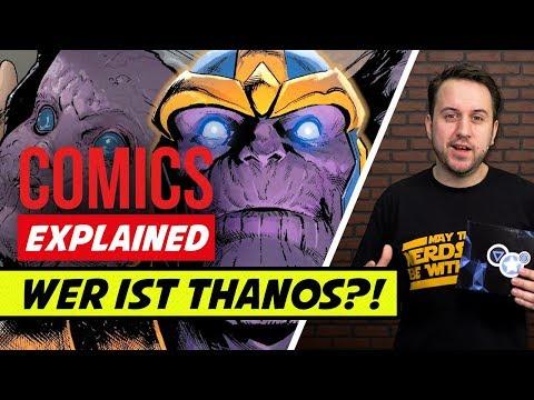 Wer ist eigentlich Thanos?   Marvel Avengers Infinity War   Comics Explained
