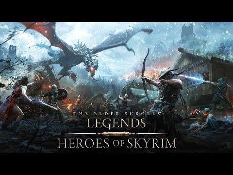 The Elder Scrolls: Legends – Heroes of Skyrim-Trailer