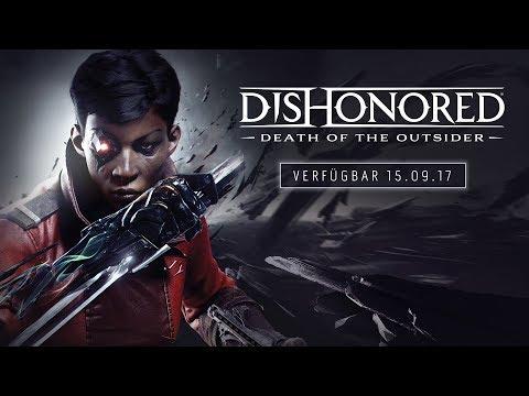 Dishonored: Der Tod des Outsiders – Offizieller E3-Ankündigungs-Trailer