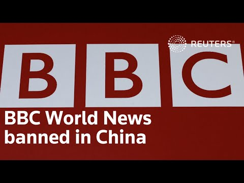 China bans BBC World News from airing