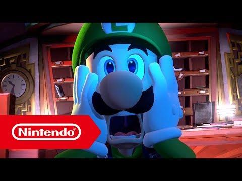 Luigi's Mansion 3 (Arbeitstitel) – Ankündigungstrailer (Nintendo Switch)
