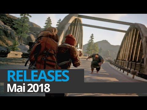 Top Game Releases: Vorschau Mai 2018 (Konsole / PC)