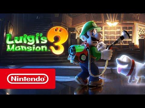 Luigi's Mansion 3 – Übersichtsvideo von der E3 2019 (Nintendo Switch)