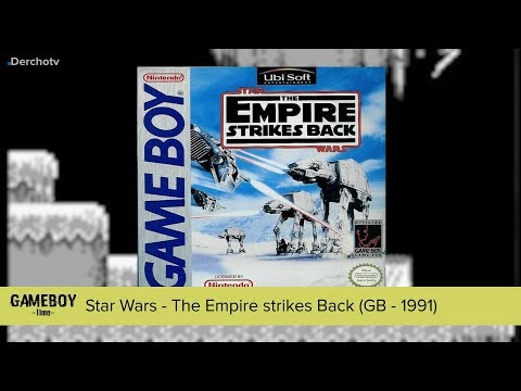 GAMEBOY Time: Star Wars – The Empire Strikes Back