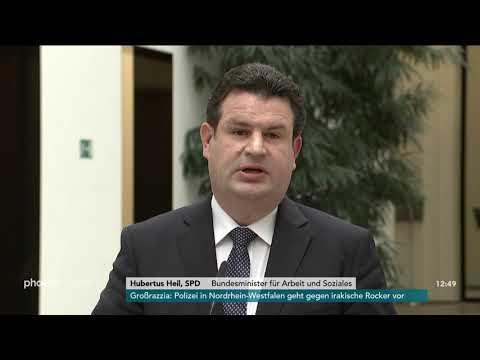 Statement von Hubertus Heil zum Konzept zur Grundrente in Berlin am 22.05.19