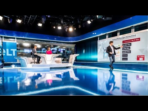 WELT sendet aus dem Axel-Springer-Neubau - TV, Digital und Print unter einem Dach