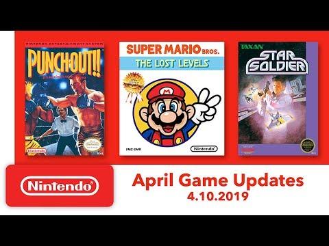 Nintendo Entertainment System - April Game Updates - Nintendo Switch Online