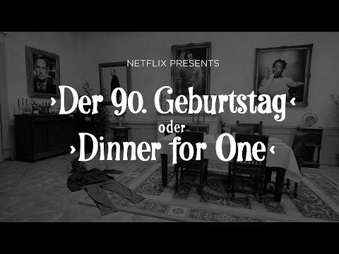 Dinner for One à la Netflix I Netflix
