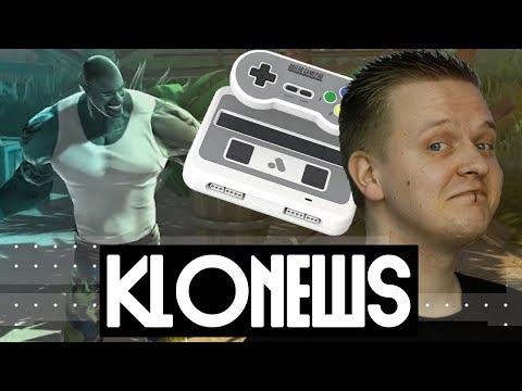 Fahrzeuge in Fortnite? | Super Analogue NT gehackt! | CS:GO in Wembley | Shaq Fu - Klonews