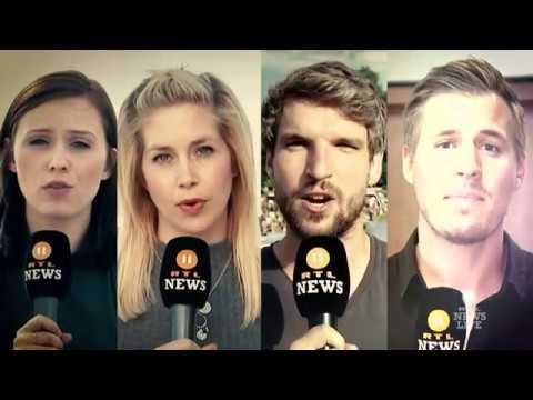 "Video-Appell der Berliner Crew der ""RTL II News"""