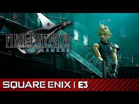 Final Fantasy VII Remake - Gameplay Reveal Demo | Square Enix E3 2019