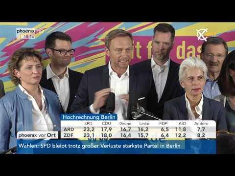 Abgeordnetenhauswahl in Berlin: Statement von Christian Lindner am 18.09.2016