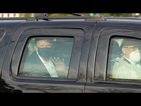 Donald Trump declares 'I get it,' then briefly leaves hospital