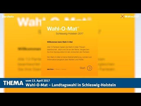 THEMA – Wahl-O-Mat – Landtagswahl in Schleswig-Holstein