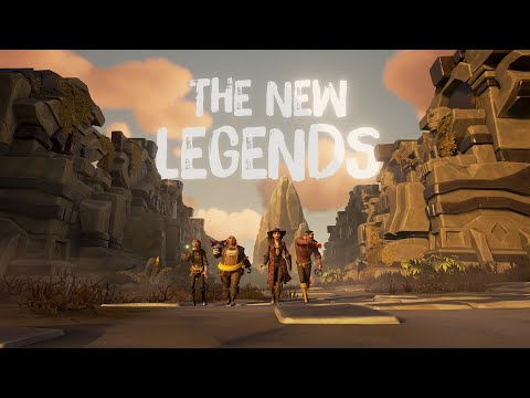 The New Legends: Official Sea of Thieves Steam Release Date Reveal Trailer