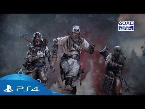 Horizon Zero Dawn: The Frozen Wilds | E3 2017 Reveal Trailer | PS4