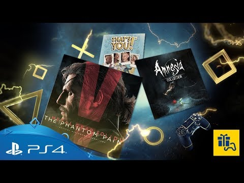 PlayStation Plus | Monthly Games for October 2017 | PS4