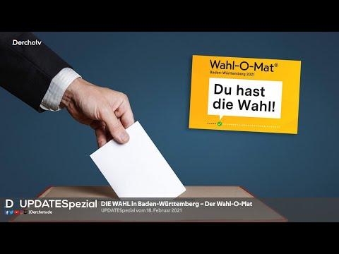 DIE WAHL in Baden-Württemberg – Der Wahl-O-Mat | UPDATESpezial vom 18.02.21