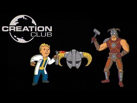 Creation Club für Fallout 4 & Skyrim Special Edition – E3-Ankündigungstrailer
